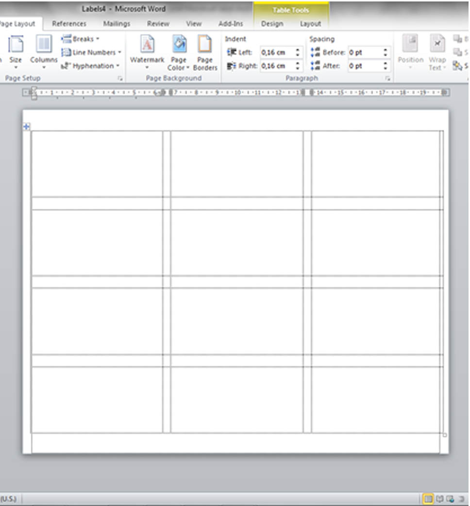 Word free label templates printable – Format Labels in Word